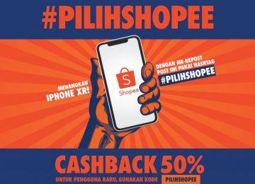 Dapatkan Iphone XR Gratis dengan Mengikuti Kuis #PILIHSHOPEE