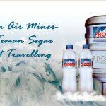 Frozen Air Mineral, Teman Segar Saat Travelling