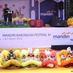 Serunya Festival Imlek Pontianak bersama Bank Mandiri