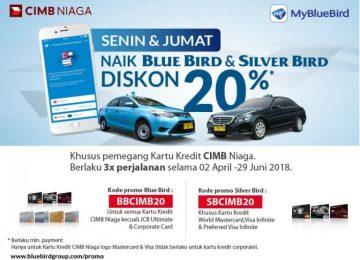 Kelebihan Promo Blue Bird dengan CIMB Niaga