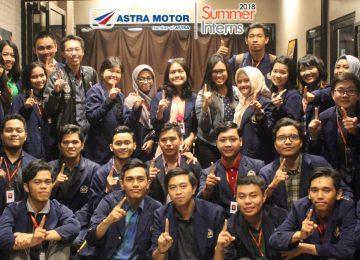 Astra Motor Pontianak Berikan Pelatihan ke Mahasiswa Untan