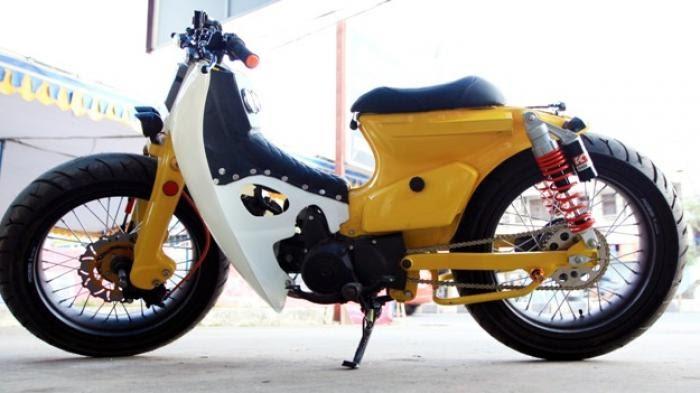 Tips Modifikasi Motor Klasik Legendaris Honda C70 Dengan Tampilan Kekinian Blogsteguh